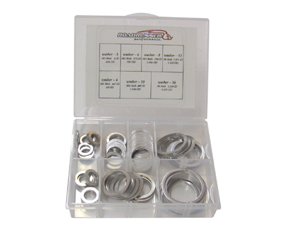 Aluminum Washer Assortment
