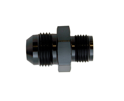 4 AN Swivel Female to Male AN 4 Hose Union Fuel Bulkhead Fitting Adapter Black Aluminum 45 Degree Forged