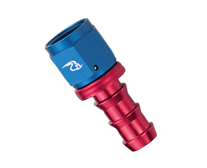 Straight (Anodized Push On Hose Fitting)