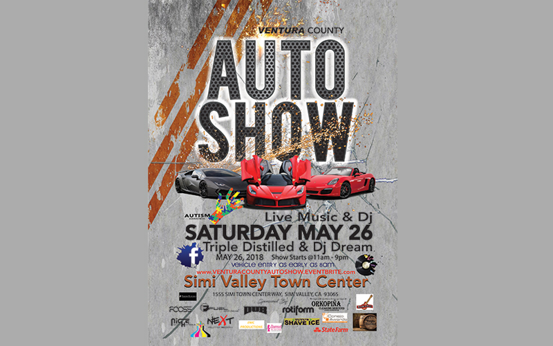 Ventura County: Auto Show at Simi Valley Town Center