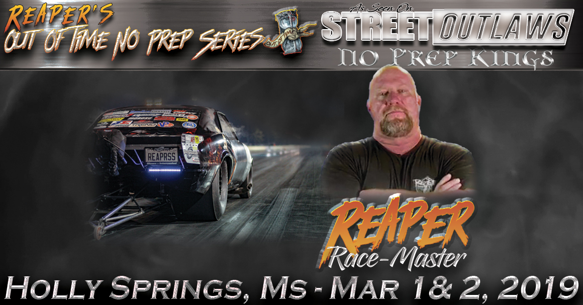 Reaper's Out of Time No Prep Series (Rescheduled: Mar 22 & 23)