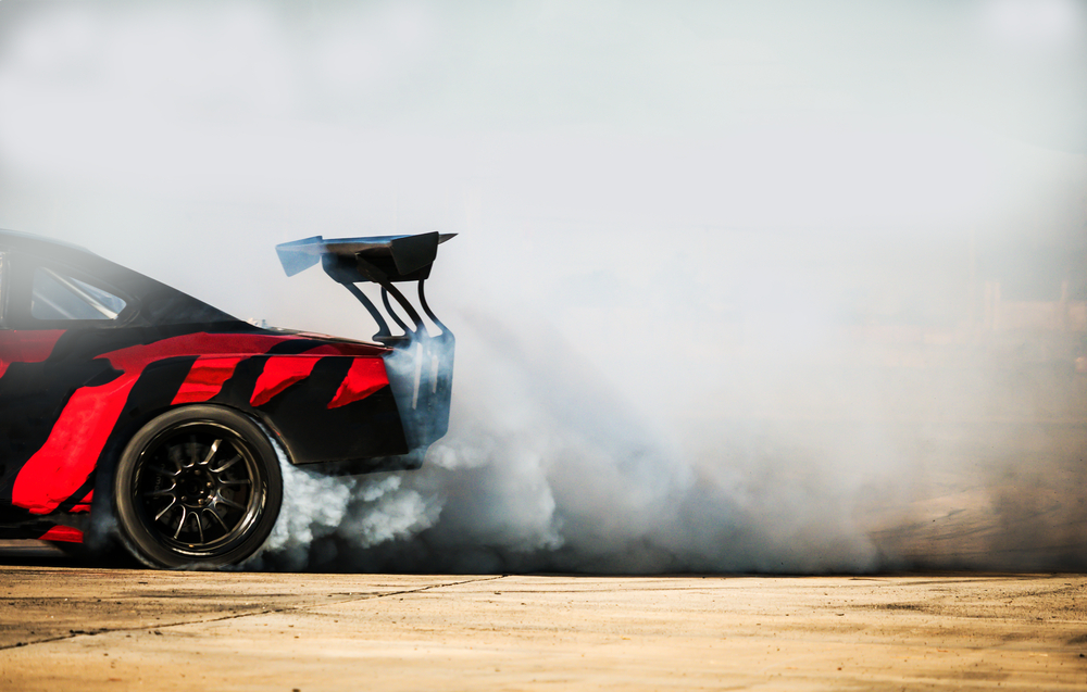 Why Racing Cars Have Smooth Tires
